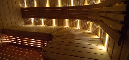 LED-valot saunaan