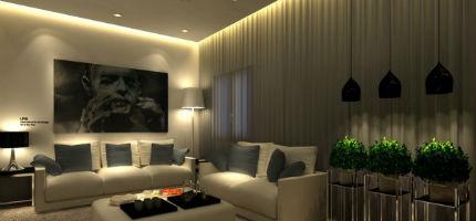 LED-valot olohuoneeseen